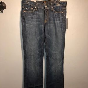 7  for ALL MANKIND bootcut ladies jeans NWT